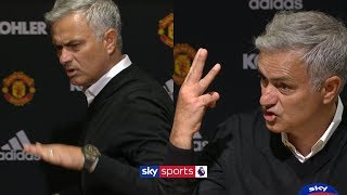Jose Mourinho storms out of press conference demanding 'respect'