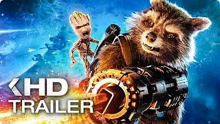GUARDIANS OF THE GALAXY VOL. 2 ALL Trailer & Clips (2017)
