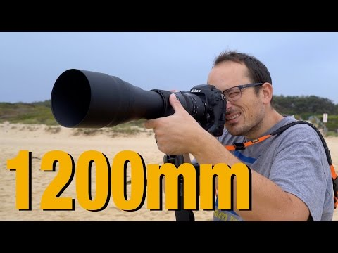 1200mm lens - Surf Photography with ULTRA Telephoto zoom lens