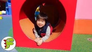 おでかけ 名古屋アンパンマンミュージアムへ遊びに行ったよ!大きいボールで遊ぼう! トイキッズ