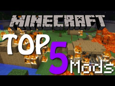 Best Mods for Minecraft 1.2.5   Top 5   HD   Best Mods  
