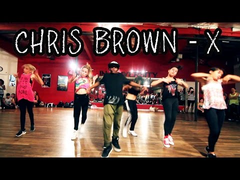 X - CHRIS BROWN Dance Video (Class) | @MattSteffanina Ft **Lil Monsters!!