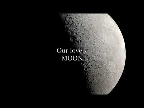 THE MYSTERIOUS MOON | MUST WATCH | CLOSEST VIEW IN 4K | BEAUTIFUL SOUNDTRACK | HALFLIGHT PRODUCTIONS