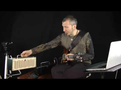AUDIO TEST #9  - Amp Yamaha THR10 e THR10C - Massimo Varini
