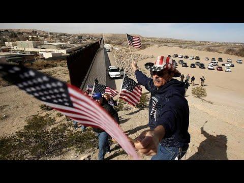 ΗΠΑ: Διαδήλωση υπέρ του τείχους με το Μεξικό