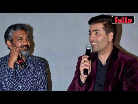 KJo Joins Hands With SS Rajamouli!