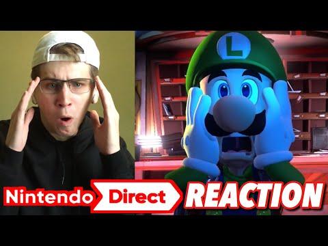 Nintendo Direct 9.13.18 REACTION!