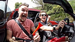 THE ULTIMATE REVENGE PRANK - AIRHORN BINGO!! by Supercars of London