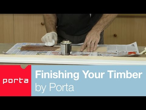Finishing Your Timber by Porta