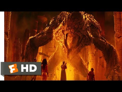 Gods Of Egypt (2016) - The Riddle Of The Sphinx Scene (7/11) | Movieclips