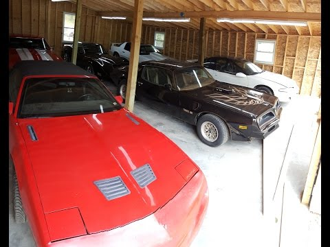 The Candy Shop - Garage full of classic cars