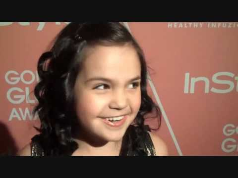 Bailee Madison 2nd Annual Golden Globe Awards exclusive Interview  Pictures (12.8.09)