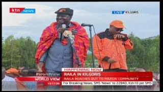 Maasai warriors to oversee mass voter registration among Raila Odinga's strongholds
