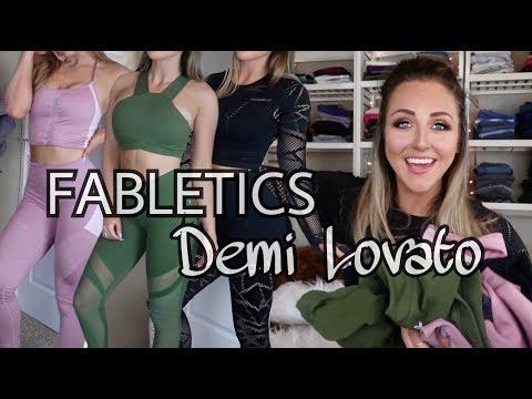 Fat burner - NEW Fabletics X Demi Lovato 2018 Review