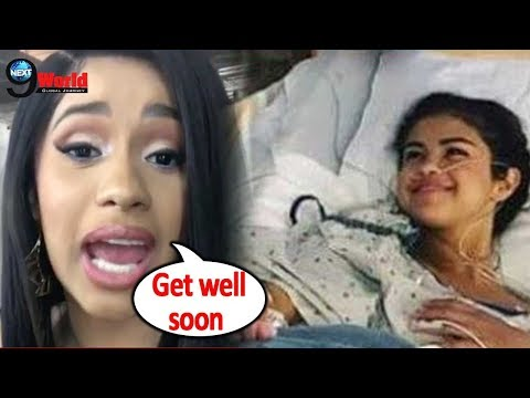 Selena Gomez Hospitalized: Cardi B Sends Message of Support to Selena Gomez following her health