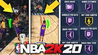 HOW TO GET SHOOTING BADGES FAST IN NBA 2K20! QUICKEST SHOOTING BADGE METHOD NBA 2K20