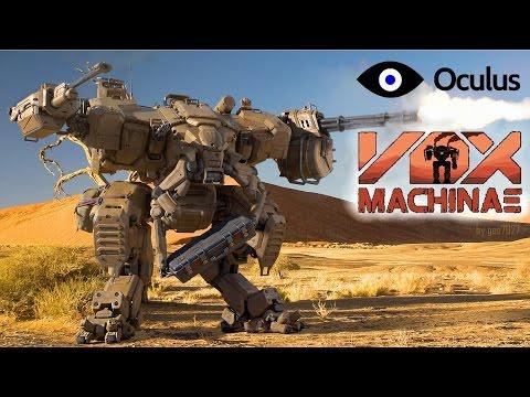 VOX MACHINAE на Oculus Rift DK2 - Мех симулятор