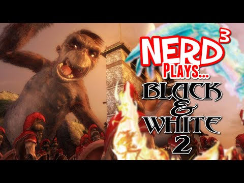 black and white - A game about making a cow lob shit at shit. Game Link: http://www.lionhead.com/games/black-white-2/ End theme by the incredible Dan Bull: http://www.youtube....