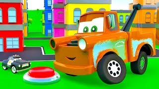 Video Super Mater helps cars. Giant Mater, Sheriff, King. The SUPER Tow Truck for kids. Super Toys cars 3 MP3, 3GP, MP4, WEBM, AVI, FLV November 2018