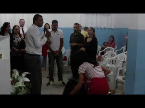 Oração- Apóstolo Douglas Viana em I.M.A. Nova Canaa Varzea Paulista SP