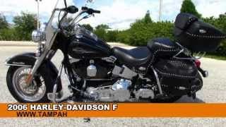 8. Used 2006 Harley Davidson FLSTC Heritage Softail Classic - HD Motorcycles for sale