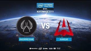 UnderPressure vs. AVANGAR - IEM Katowice 2019 Closed Minor CIS QA - map2 - de_mirage [MintGod]