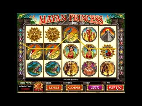 Обзор игрового автомата Принцесса майя (mayan princess) - правила и характеристики