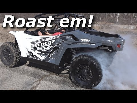 Fixing The Wildcat XX And Ripping Some Burnouts!
