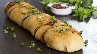 Chicken Stromboli Recipe by Home Cooking Adventure