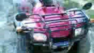 8. Honda TRX 350 TE & Kymco MXU 250