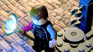 """Lego Marvels Avengers Capture Loki's Scepter Scene """"Avengers Age of Ultron"""""""