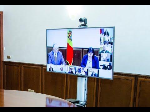Şeful statului a prezidat ședința Centrului unic de comandă pentru gestionarea crizei provocate de coronavirus