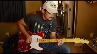 Download Lagu Brad Paisley Demos Crook Custom Red Sparkle T-Style Guitar Mp3