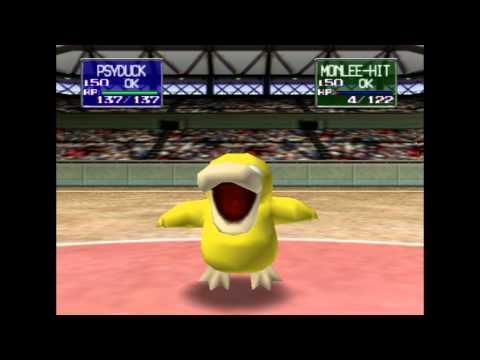 Pokémon (video Game Series) - den den dennn~ den den dennn! POKEMON STADIUM lol fun fun fun fun The world's hardest game is a bitch i dont like bitches especially ones with techno music a...