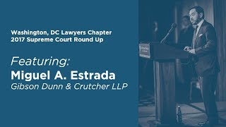 Click to play: 2017 Annual Supreme Court Round Up - Event Audio/Video