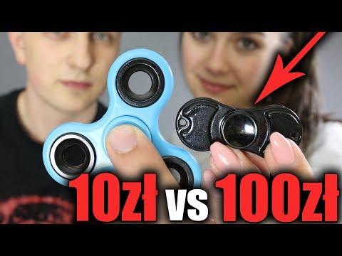 10 zł FIDGET SPINNER VS 100 zł FIDGET SPINNER (видео)