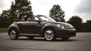 2013 Volkswagen Beetle Convertible '70s Edition Review