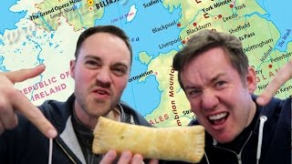 FOOD TOUR   BEDFORDSHIRE CLANGER & CHOCOLATE TOOTHPASTE by  My Virgin Kitchen
