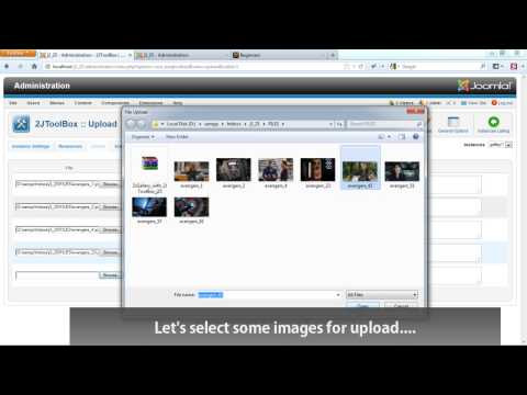 Joomla Images Gallery: 2JGallery – few minutes setup
