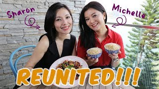 Video Michelle Chong & Sharon Au Cook Kung Pao Chicken and Talk Future Plans! MP3, 3GP, MP4, WEBM, AVI, FLV Agustus 2018