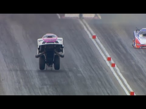 Car starts flying at 250+ mph, doesn't crash