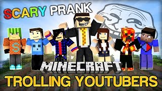820K SPECIAL - Minecraft Trolling Youtubers - The Scary Prank w/ Zexy, Preston, Vikk and more