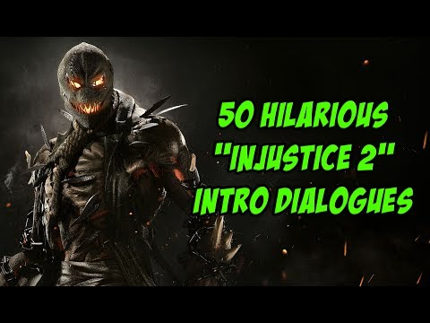 """50 Hilarious """"Injustice 2"""" Intro Dialogues"""