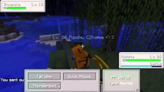 Pokemon I Minecraft - Episode 6: Så For Vi Bygget Hus!