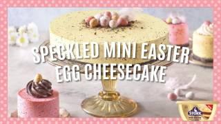 Speckled Mini Easter Egg Cheesecake