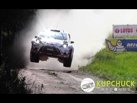 Robert Kubica - Maximum attack | Rally Poland 2014