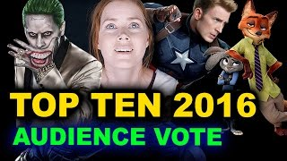 Top Ten Movies 2016 by Beyond The Trailer