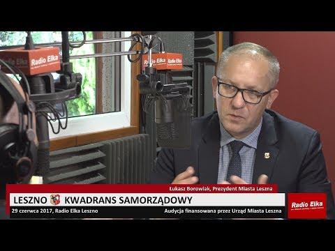 Wideo1: Leszno Kwadrans Samorządowy 29 czerwca 2017