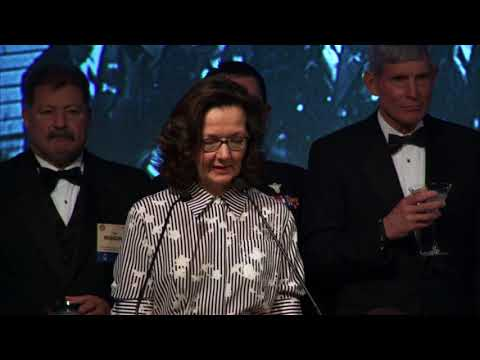 Toast to Amb. Hugh Montgomery by DDCIA Gina Haspel at the 2017 William J. Donovan Award® Dinner