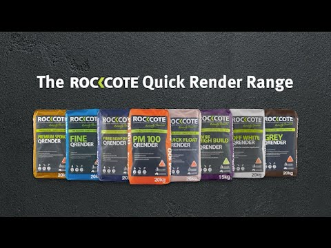 The ROCKCOTE Quick Render Range